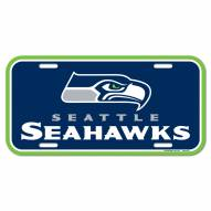 Seattle Seahawks License Plate