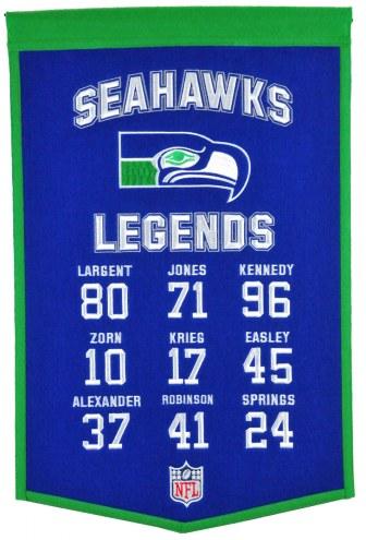Seattle Seahawks Legends Banner