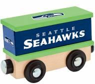 Seattle Seahawks Wood Box Car Train
