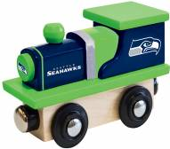 Seattle Seahawks Wood Toy Train