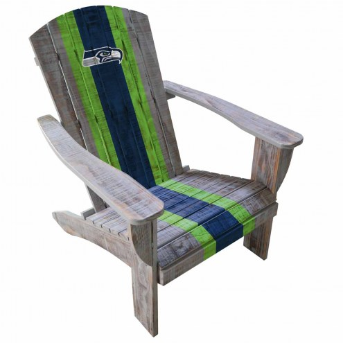 Seattle Seahawks Wooden Adirondack Chair