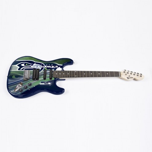 Seattle Seahawks Woodrow Northender Electric Guitar