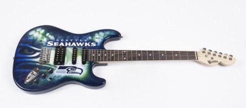 Seattle Seahawks Woodrow Northender Electric Guitar