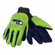 Seattle Seahawks Work Gloves