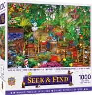 Seek & Find Garden Hideway 1000 Piece Puzzle