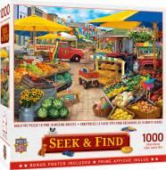 Seek & Find Market Square 1000 Piece Puzzle