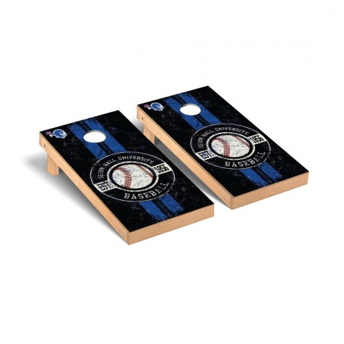 Seton Hall Pirates Baseball Vintage Cornhole Game Set