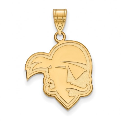 Seton Hall Pirates NCAA Sterling Silver Gold Plated Large Pendant