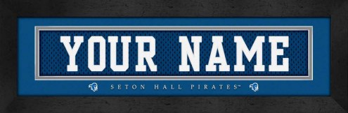 Seton Hall Pirates Personalized Stitched Jersey Print
