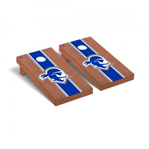 Seton Hall Pirates Rosewood Stained Cornhole Game Set