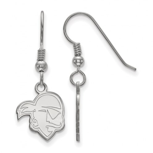 Seton Hall Pirates Sterling Silver Small Dangle Earrings