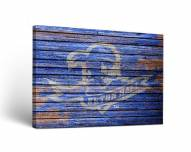Seton Hall Pirates Weathered Canvas Wall Art