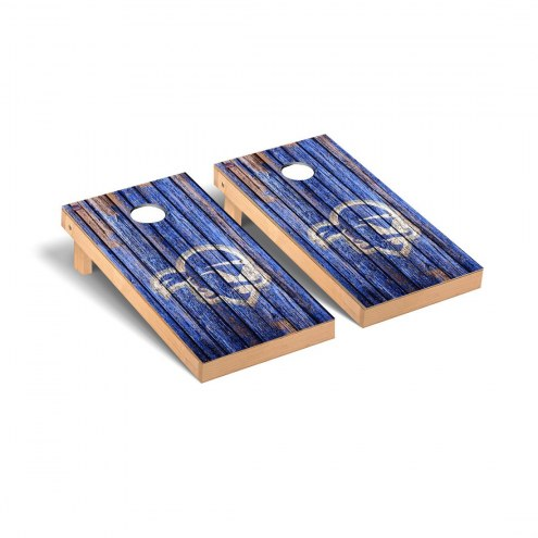 Seton Hall Pirates Weathered Cornhole Game Set