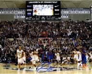 Shabazz Napier Signed Connecticut Huskies Buzzer Beater 8 x 10 Photo (Signed in Blue)