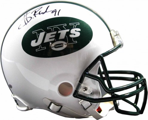 Sheldon Richardson Signed New York Jets Mini Helmet