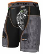 Shock Doctor Ultra PowerStride Men's Hockey Shorts with AirCore Hard Cup