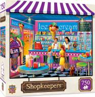 Shopkeepers Anna's Ice Cream Parlor 750 Piece Puzzle