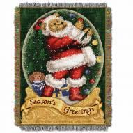 Snow Globe Teddy Throw Blanket