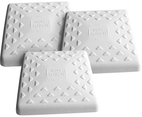 """Soft Touch 15"""" Convertible Baseball Bases - Set of 3"""