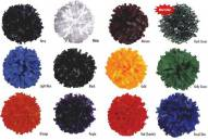 Adult Solid Color Cheerleading Pom Poms