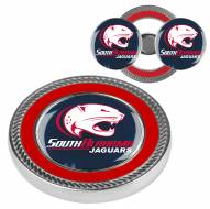 South Alabama Jaguars Challenge Coin with 2 Ball Markers