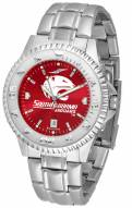South Alabama Jaguars Competitor Steel AnoChrome Men's Watch