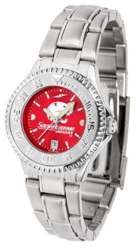 South Alabama Jaguars Competitor Steel AnoChrome Women's Watch