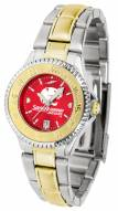 South Alabama Jaguars Competitor Two-Tone AnoChrome Women's Watch