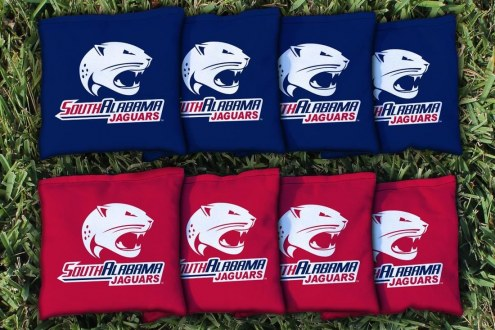 South Alabama Jaguars Cornhole Bag Set