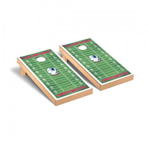 South Alabama Jaguars Football Field Cornhole Game Set