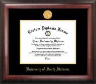 South Alabama Jaguars Gold Embossed Diploma Frame
