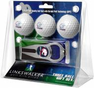 South Alabama Jaguars Golf Ball Gift Pack with Hat Trick Divot Tool