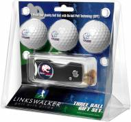 South Alabama Jaguars Golf Ball Gift Pack with Spring Action Divot Tool
