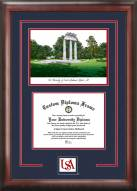 South Alabama Jaguars Spirit Graduate Diploma Frame