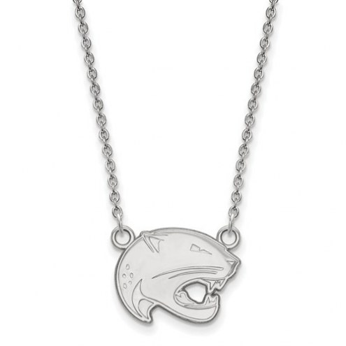 South Alabama Jaguars Sterling Silver Small Pendant with Necklace