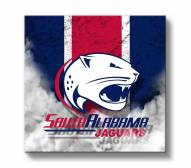 South Alabama Jaguars Vintage Canvas Wall Art
