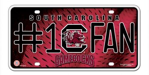 South Carolina Gamecocks #1 Fan License Plate