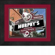 South Carolina Gamecocks 13 x 16 Personalized Framed Sports Pub Print