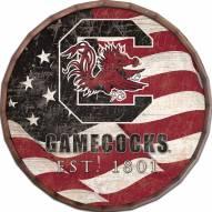 "South Carolina Gamecocks 16"" Flag Barrel Top"