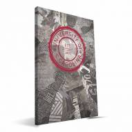 "South Carolina Gamecocks 16"" x 24"" Scrapbook Canvas Print"