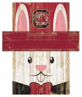 "South Carolina Gamecocks 19"" x 16"" Easter Bunny Head"