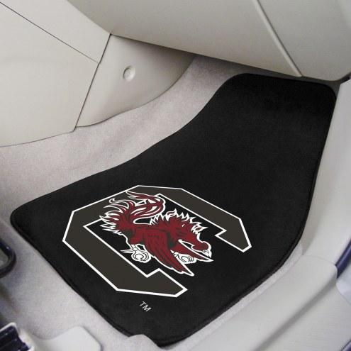 South Carolina Gamecocks 2-Piece Carpet Car Mats