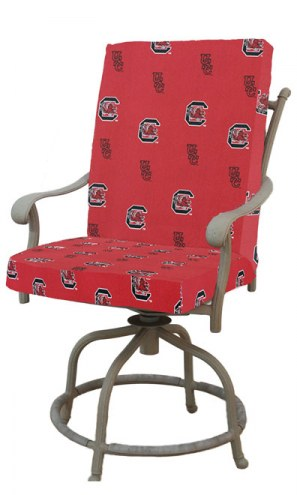 South Carolina Gamecocks 2 Piece Chair Cushion