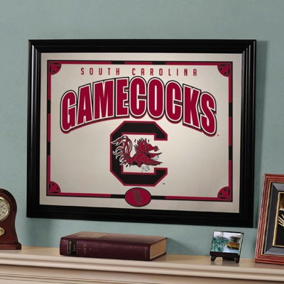 "South Carolina Gamecocks 23"" x 18"" Mirror"