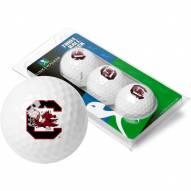 South Carolina Gamecocks 3 Golf Ball Sleeve