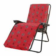 South Carolina Gamecocks 3 Piece Chaise Lounge Chair Cushion