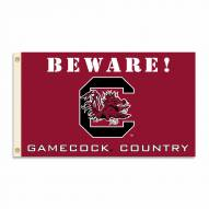 South Carolina Gamecocks 3' x 5' Beware Flag