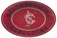 "South Carolina Gamecocks 46"" Heritage Logo Oval Sign"