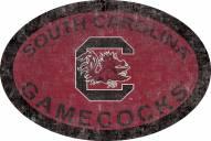 "South Carolina Gamecocks 46"" Team Color Oval Sign"