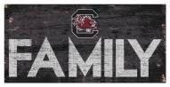 "South Carolina Gamecocks 6"" x 12"" Family Sign"